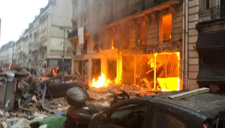 انفجار ضخم بمدينة بالتيمور الأمريكية