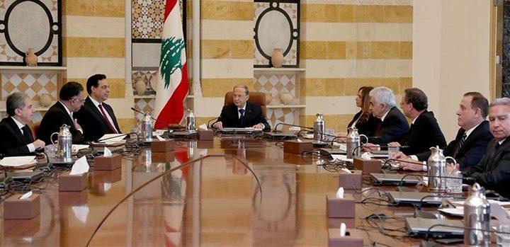 توجه لإعلان استقالة حكومة حسان دياب بعد انتهاء جلسة مجلس الوزراء