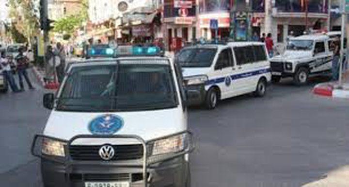 القبض على متهم بتنفيذ 8 سرقات في نابلس