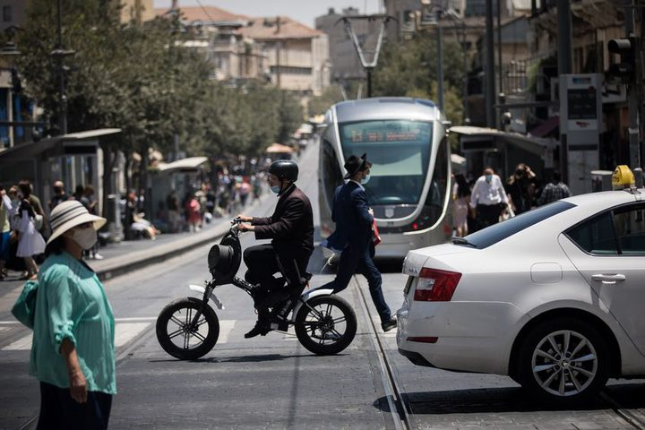استمرار تسارع وتيرة انتشار فيروس كورونا في دولة الاحتلال