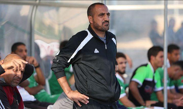 غزة الرياضي يقبل استقالة جهاز صائب جندية