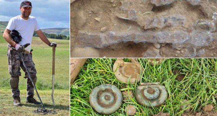 اكتشاف أحد أهم كنوز العصر البرونزي في اسكتلندا