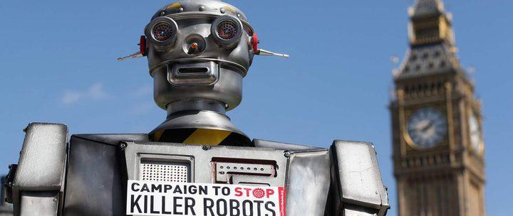منظمة حقوق الإنسان تحذر من استخدام الآلي القاتل
