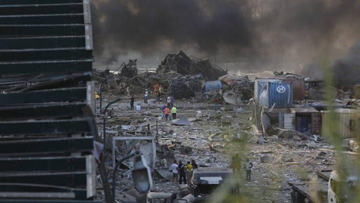 وكالة: مستندات سرية حذرت من انفجار بيروت
