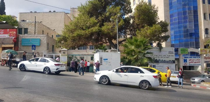 اغلاق المدخل الرئيس لمستشفى بيت جالا الحكومي