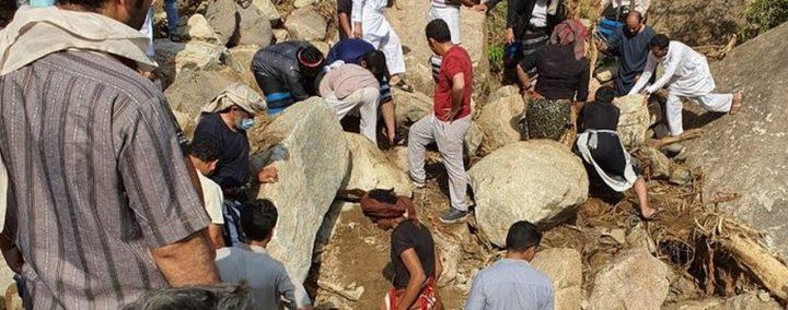 العثور على جثث 4 شبان فقدوا الخميس الماضي في السعودية