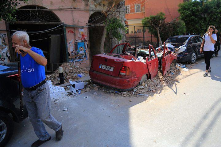دمار هائل في العاصمة اللبنانية نتيجة انفجار مرفأ بيروت