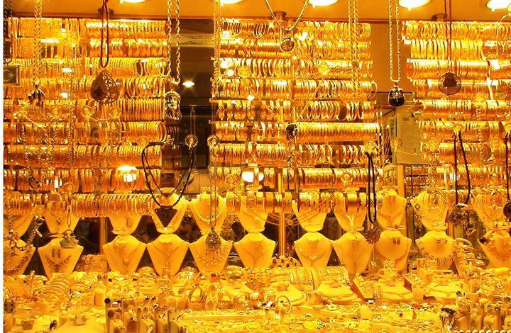 أسعار الذهب تهبط بشكل ملحوظ