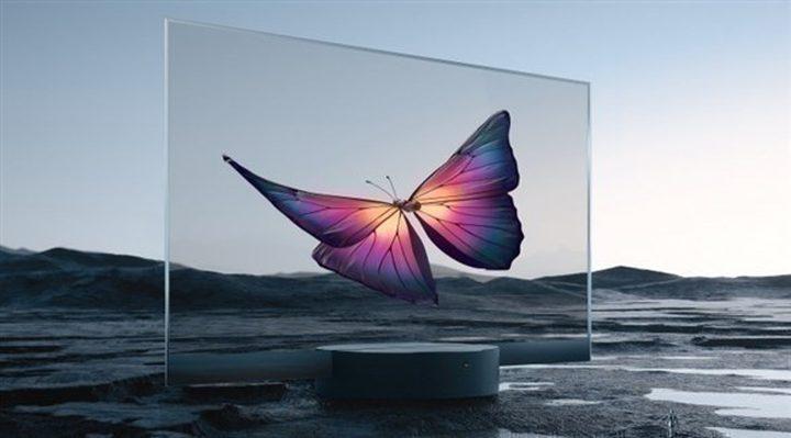 """شركة """"شاومي"""" الصينية تطرح شاشة تلفاز شفافة"""