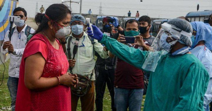 67 ألف إصابة بكورونا في الهند في أعلى حصيلة منذ تفشي الوباء