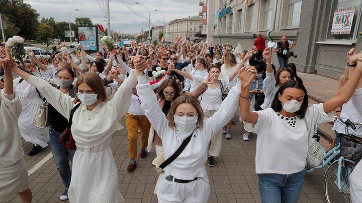اعتقال حوالي 700 متظاهر في بيلاروس