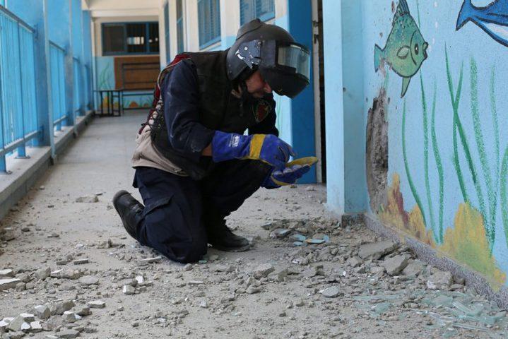 الخارجية تدين استهداف طائرة الاحتلال لمدرسة في غزة