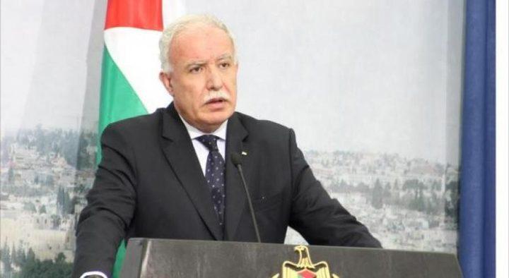 المالكي: استدعاء السفير الفلسطيني من الامارات