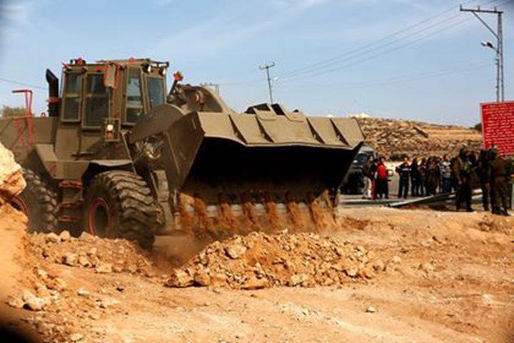 اريحا: افشال تسريب 11 ألف دونم في منطقة النبي موسى