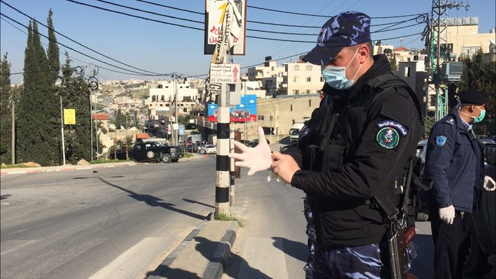 رام الله: اغلاق بلدة عبوين بعد تسجيل 14 اصابة بفيروس كورونا