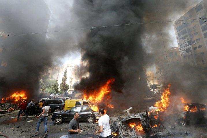 انفجار يستهدف رتلا يقدم دعما لوجستيا للتحالف الدولي في العراق