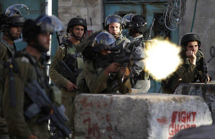 اصابة شاب برصاص الاحتلال واعتقاله في قرية المدية غرب رام الله