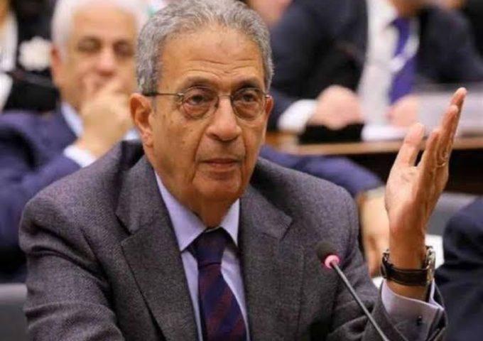 عمرو موسى عن خطوة الامارات : الدنيا بتتغير