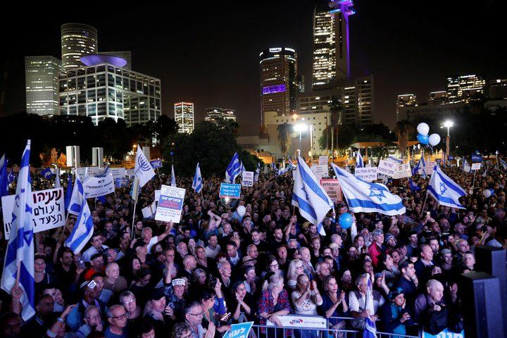 الآلاف يتظاهرون في دولة الاحتلالضد نتنياهو وحكومته