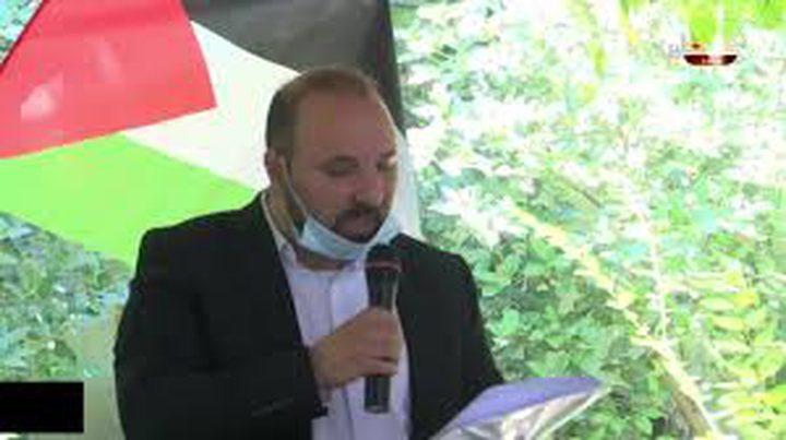 المؤتمر الوطني الجامع في نابلس يرفضالاتفاق الإماراتي الإسرائيلي
