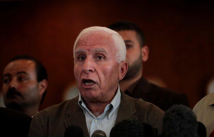 """الأحمد لـ """"النجاح"""": الانقسام صناعة عربية إسرائيلية إقليمية"""