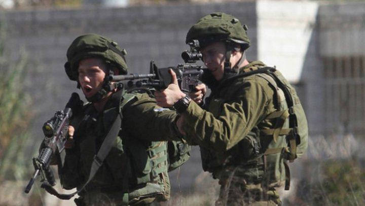 إصابة شاب برصاص الاحتلال شمال بيت لحم