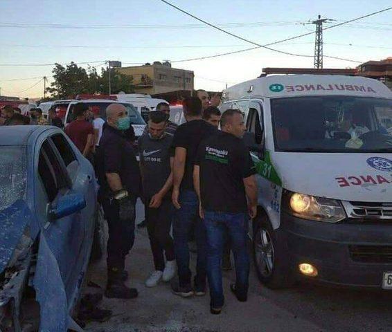 الشرطة: 4 اصابات نتيحة حادث سير على طريق روجيب نابلس