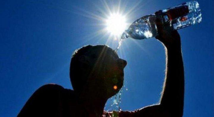 الطقس: درجات الحرارة أعلى من معدلها بحدود 3 درجات