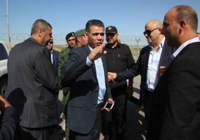 لبحث عدة ملفات.. الوفد الامني المصري يصل قطاع غزة