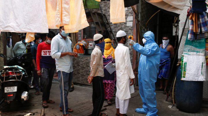 الهند: 57981 اصابة جديدة بفيروس كورونا و941 حالة وفاة