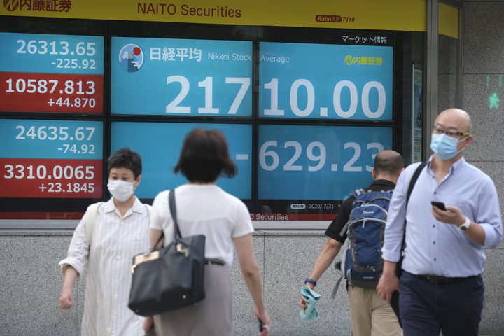 الاقتصاد الياباني يتكبد خسائر قياسية
