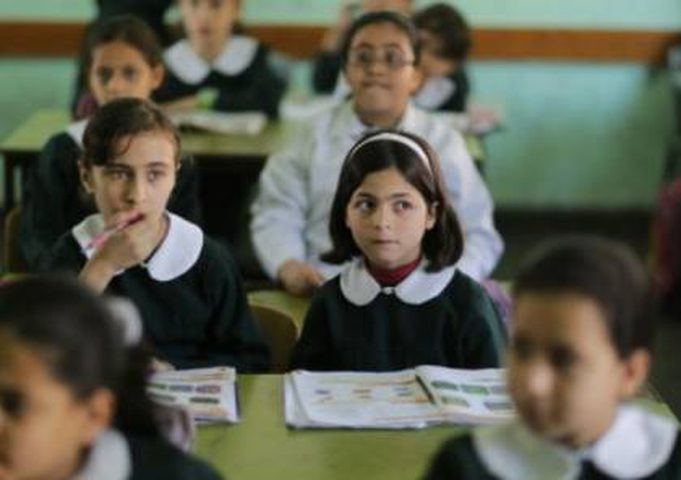 التعليم بغزة:اعتبار يومي الأربعاء والخميس 2-3 أيلول إجازة للمدارس