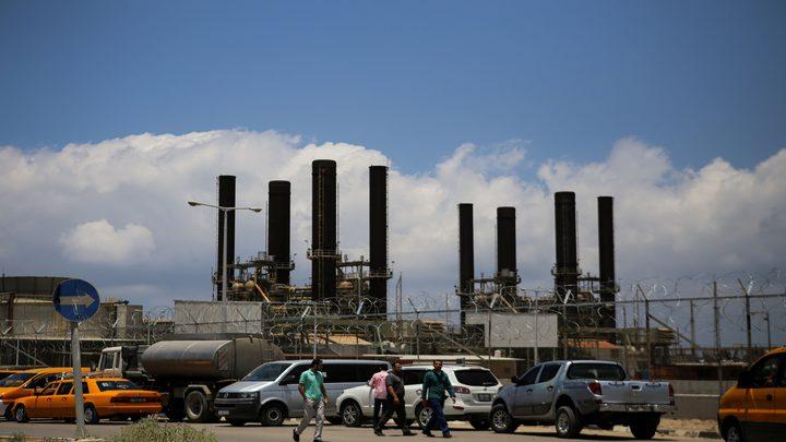 غزة: توقف محطة الكهرباء عن العمل بسبب منع الاحتلال ادخال الوقود
