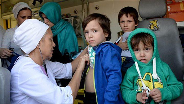 26 طفلا روسيا يعودون الى بلادهم من سوريا