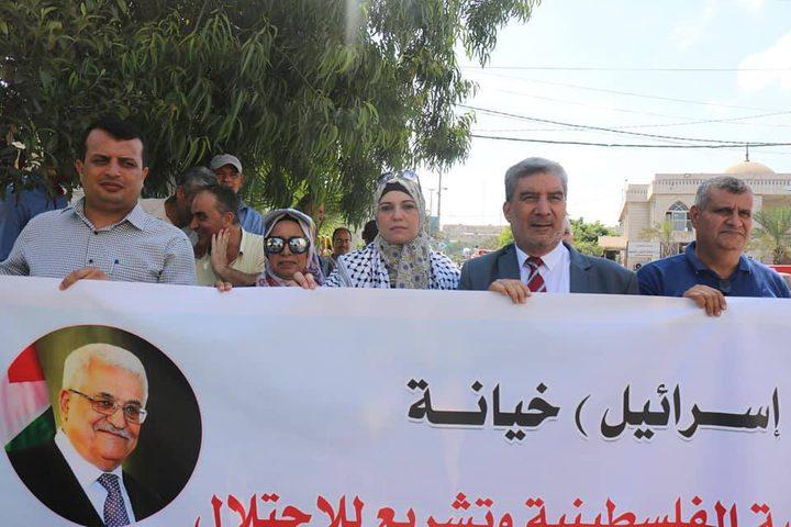 المعاهد الأزهرية تشارك بمسيرة ضد التطبيع الإماراتي الاسرائيلي