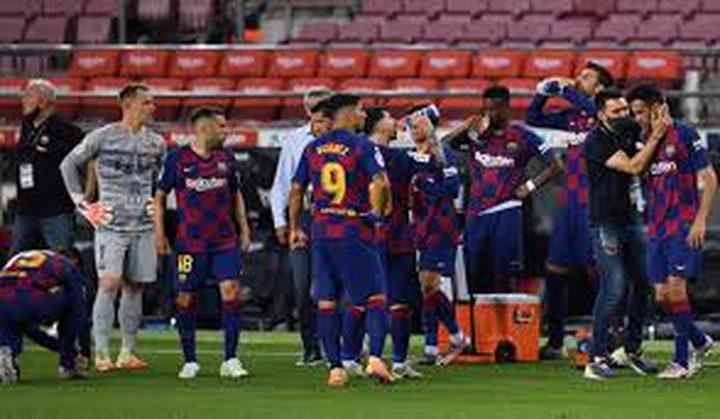 الكشف عن هوية مدرب برشلونة الجديد