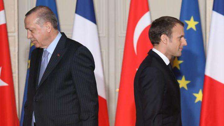 ماكرون: أردوغان ينتهج سياسة تزعزع استقرار اوروبا