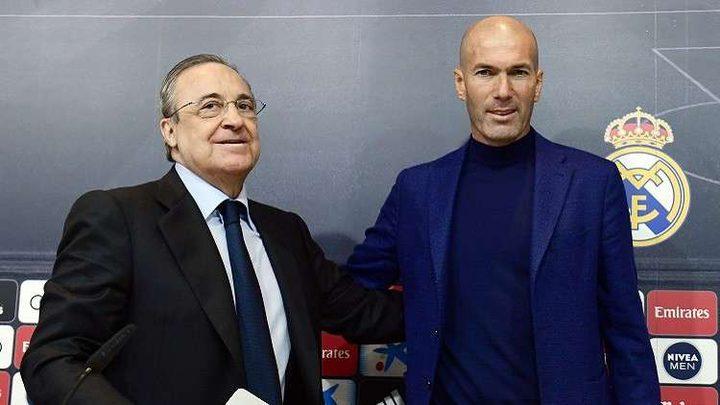 بيريز يُحصن ريال مدريد من مفاجآت زيدان