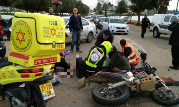 مصرع مواطن جراء حادث دراجة نارية قرب قرية كابول
