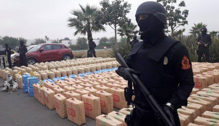 الشرطة المغربية تحبط عملية تهريب 13 طنا من المخدرات