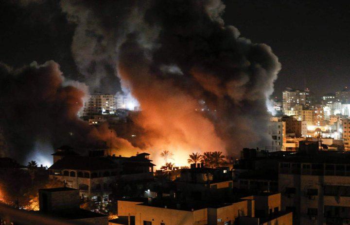 مدفعية الاحتلال تستهدف موقعين للمقاومة جنوب قطاع غزة
