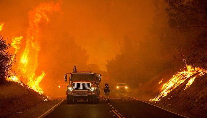 مصرع 6 أشخاص و تدمير قرابة500 مبنى جراء استمرار حرائق كاليفورنيا