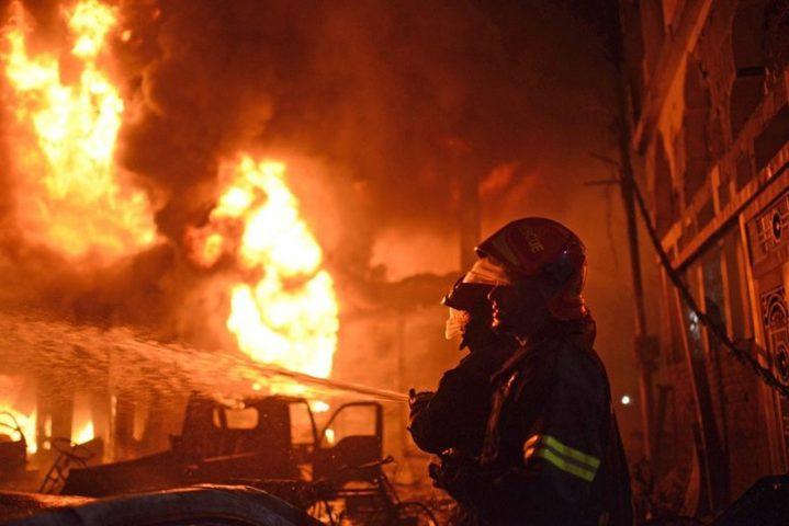 اندلاع حريق في منزل مأهول بمدينة أم الفحم