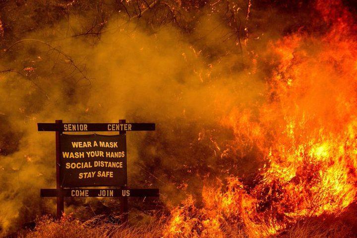 """صورة """"جهنمية"""" تلخص عام 2020 المليء بالفوضى"""