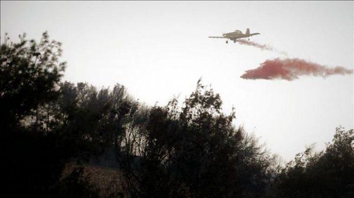 الاحتلال يعترف بسقوط طائرة تابعة له على الحدود مع لبنان