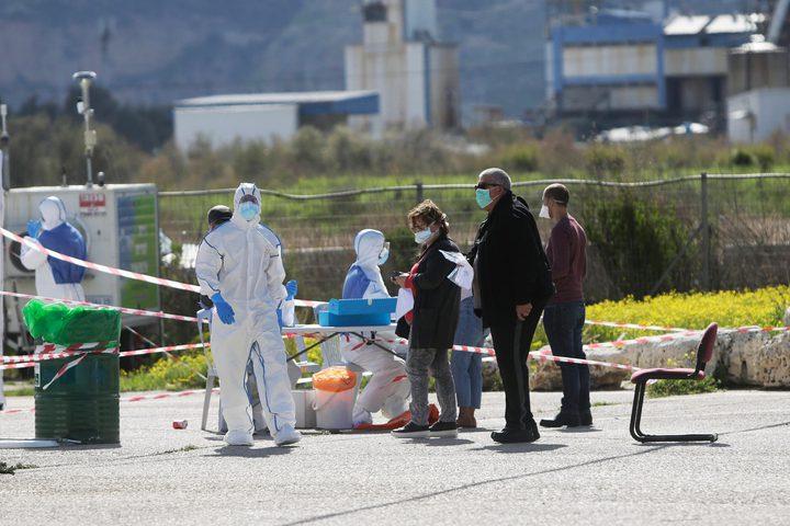 حصيلة وفيات كورونا في دولة الاحتلال تصل إلى825 حالة