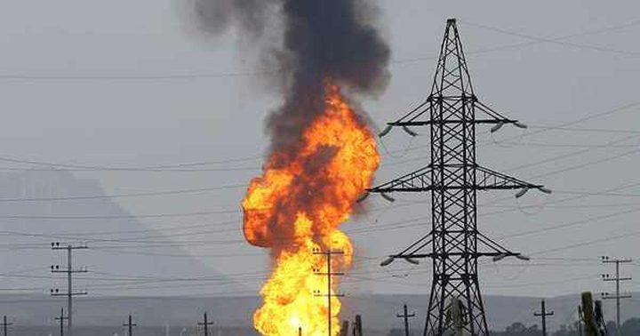 انقطاع الكهرباء عن كامل سوريا جراء انفجار في خط الغاز العربي