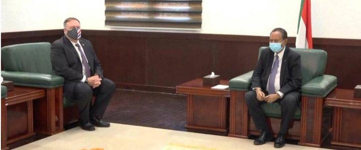 حمدوك لبومبيو: الحكومة  لا تملك تفويضا للتقرير بشأن التطبيع