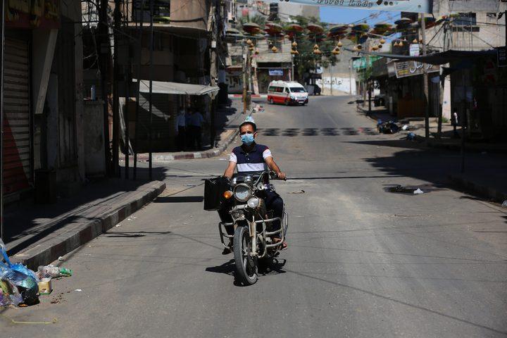 تسجيل اصابتين جديدتين بفيروس كورونا بمدينة غزة