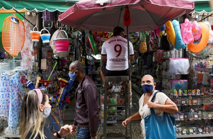 البرازيل: 565 حالة وفاة و17078 اصابة جديدة بفيروس كورونا